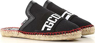 GCDS Sandals for Women On Sale, Ben Sherman Weekender, Black, Canvas, 2019, 3.5 4.5 5.5 6.5 7.5 8.5