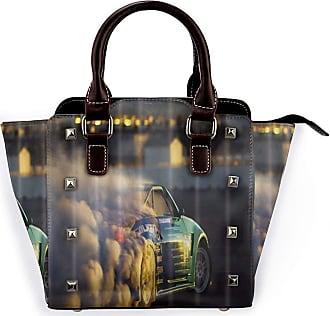 Browncin Racing Car With Smoke Detachable Fashion Trend Ladies Handbag Shoulder Bag Messenger Bags