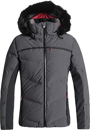 Roxy Snowstorm - Quilted Snow Jacket for Women - Quilted Snow Jacket - Women True Black