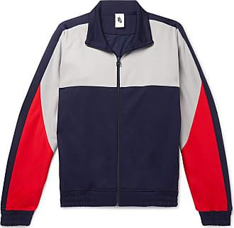Nike + Martine Rose Colour-block Tech-jersey Track Jacket - Blue