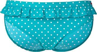 Cleo by Panache Panache Womens Aqua Betty Frilled Bikini Bottoms 16