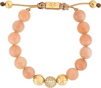 Nialaya moonstone beaded bracelet - PINK