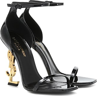 Saint Laurent Sandalen Opyum 110 aus Lackleder