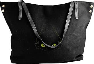 Juju The Alpha Womens Classic Shoulder Portable Big Tote Handbag Work Canvas Bags