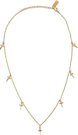 Nialaya hanging cross necklace - GOLD