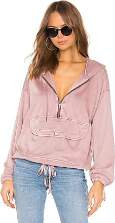 Splendid Pocket Hoodie in Pink