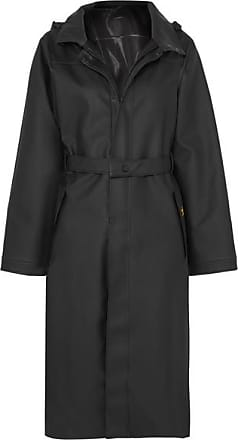 Paco Rabanne + Guy Cotten Pvc-blend Trench Coat - Black