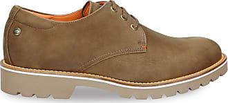 Panama Jack Mens Shoes Kalvin C9 Nobuck Vison/Mink 45 EU