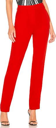 Tibi Beatle Pant in Red
