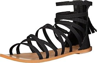 a72acfcaa0e6 Roxy Womens Brett Open Toe Casual Slide Sandals