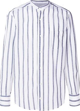 Eleventy classic striped shirt - Branco