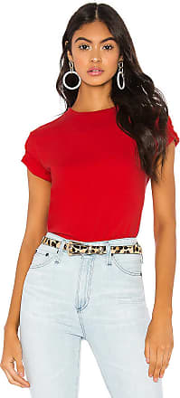 Hanes x Karla The Crew Tee in Red