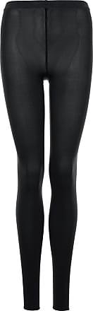 Wolford Womens Velvet 66 Leggings Tights, 65 DEN, Black, M