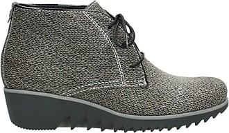 Wolky Comfort Lace up Boots Dusky Winter - 40150 Taupe Printed Suede - 38