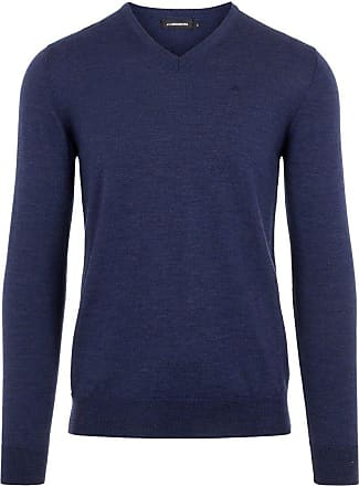 J.Lindeberg Newman Perfect Merino Sweater Man Blå