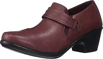 Easy Street Womens Graham Dress Casual Shootie Loafer, Burgundy, 10 UK