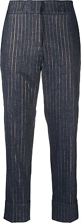 PESERICO striped tailored trousers - Azul