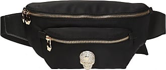 Philipp Plein Skull Motif Belt Bag Womens Black