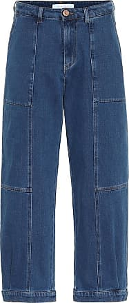 See By Chloé High-rise stretch-denim jeans