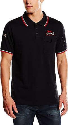 Lonsdale Mens Amateur Polo Shirt, Black (Schwarz), XX-Large (Size: 2XL)