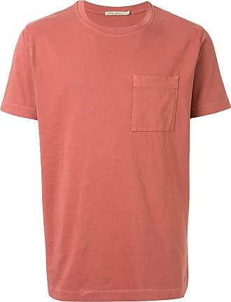 Nudie Jeans Camiseta Nudie Roy decote careca - Rosa
