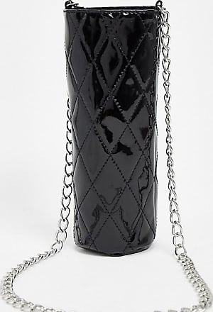 Glamorous Exclusive water bottle holder in black quilt