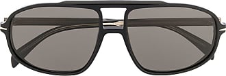 David Beckham Óculos de sol geométrico - Preto
