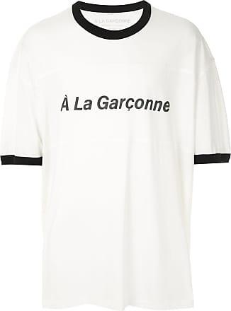 À La Garçonne T-shirt oversized Special 1 À La Garçonne + Hering - Branco