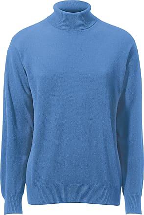 49b3d67c732 Peter Hahn Coltrui van 100% scheerwol Peter Hahn Cashmere blauw