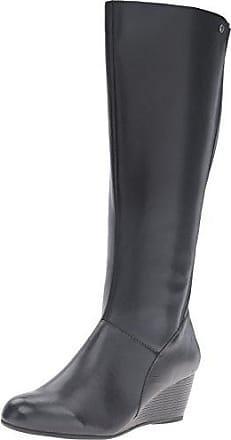 b4640a84708 Hush Puppies PYNICAL Rhea Women 8.5 Black WP Leather