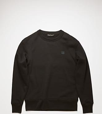 Acne Studios Fairview Face Schwarz Sweatshirt in normaler Passform