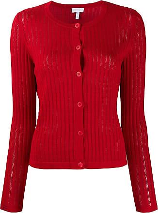 Escada Sport buttoned cardigan - Vermelho