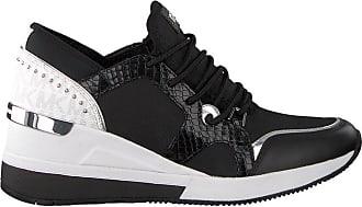 ac2ca8739a0 Michael Kors Zwarte Michael Kors Sneakers Liv Trainer