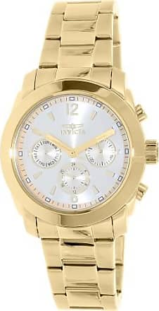 Invicta Womens Angel 17901 Gold Stainless-Steel Swiss Multifunction Watch