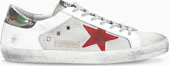 Golden Goose Sneaker Superstar bianca e argento