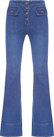 HELENA BORDON Calça Flare - Azul