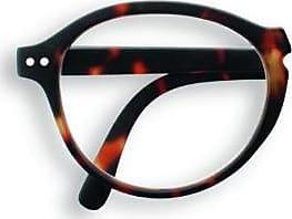 Izipizi F Shape Tortoise +1.5 Reading Glasses - Brown/Black/Glass