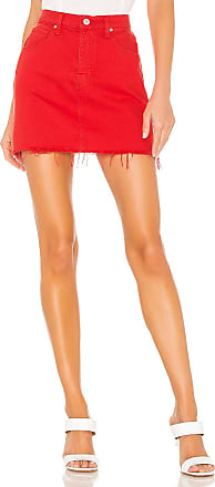 Hudson The Viper Mini Skirt in Cherry