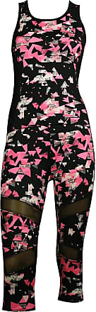 MySocks Womens Sportswear Leggings and Top matching Set Pink Triangle 3 Quatre