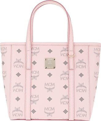 MCM Tote - Toni Visetos Mini Shopper Powder Pink - rose - Tote for ladies