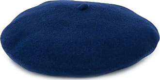 Celine Robert Chapeaux knitted beret hat - Blue