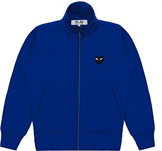 Comme Des Garçons Sweatshirt mit Big Heart Navy P1T256 - M
