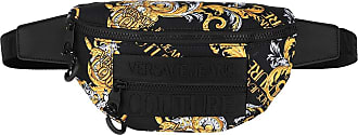 Versace Jeans Couture Belt Bags - Macrologo Belt Bag Black/Gold - black - Belt Bags for ladies