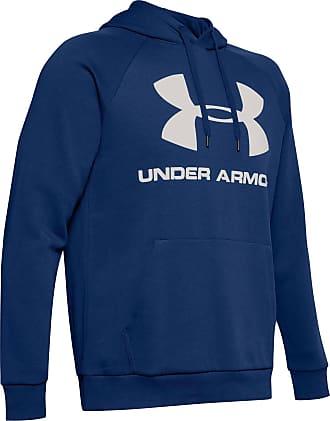 Under Armour Rival Hoodie Herren in american blue, Größe L