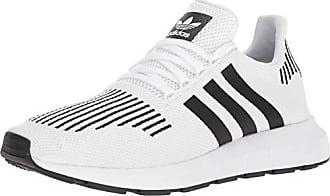 adidas Originals Mens SWIFT RUN Shoes,white/core black/medium grey heather,8 Medium US