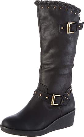 Refresh Womens 69200 Slouch Boots, Black (Negro Negro), 6 UK