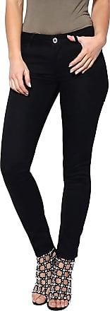 True Face Ladies Skinny Jeans Slim Stretchable Trousers Soft Comfy Denim Pants Black 10