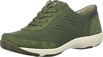 Dansko Womens Hayes Sneaker, Olive Suede, 36 M EU (5.5-6 US)