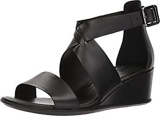 0ca751393cf7 Ecco Womens Womens Shape 35 Wedge Ankle Strap Sandal