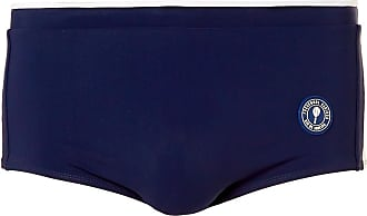 Frescobol Carioca Sugna Logo-appliquéd Colour-block Swim Briefs - Navy